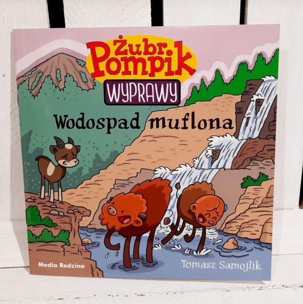 Sklep SLJEDZIK -- Żubr Pompik. Wyprawy. Wodospad muflona